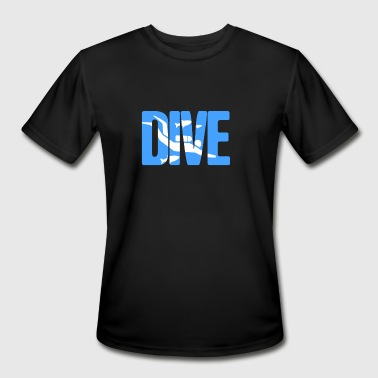 Diving Design DIVE | Scuba Diving Design - Men's Moisture Wicking Performance T-Shirt