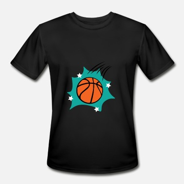 Free Throw Basketball throw - Men's Moisture Wicking Performance T-Shirt