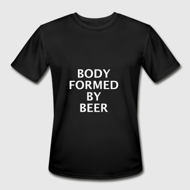 BODY FORMED BY BEER BELLY BARBECUE - Men's Moisture Wicking Performance T-Shirt