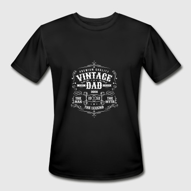 65 Years Old Quotes Vintage Dad Born 1953 Shirt - 65th Birthday Gift f - Men's Moisture Wicking Performance T-Shirt