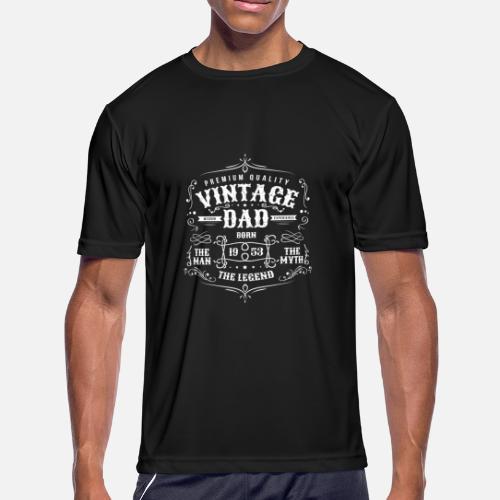 Mens Sport T ShirtVintage Dad Born 1953 Shirt
