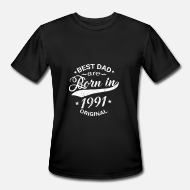 The Best Of 1991 BEST DAD ARE BORN IN 1991 - Men's Moisture Wicking Performance T-Shirt