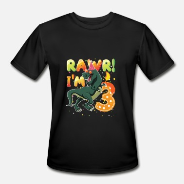 3 Dinosaur Birthday Shirt Years Old Rawr I39m