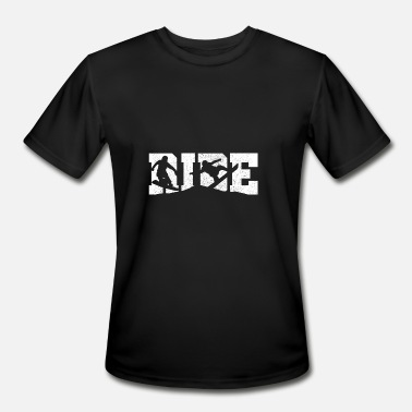 Ride Snowboards RIDE - Snowboard Freestyle Snowboarding Gift - Men's Moisture Wicking Performance T-Shirt
