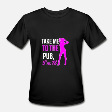 18th Birthday 18th birthday - Men's Moisture Wicking Performance T-Shirt