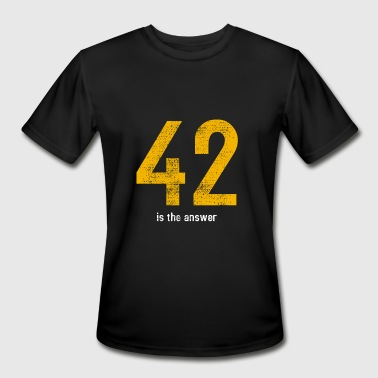 42 is the answer - Men's Moisture Wicking Performance T-Shirt