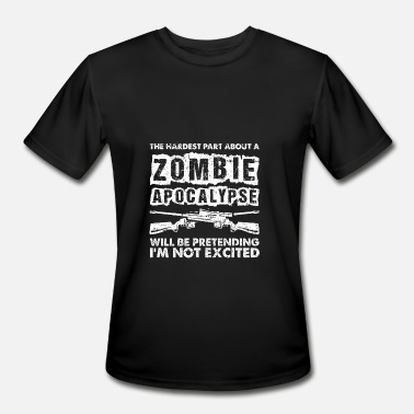 Zombie Apocalypse Zombie Apocalypse Halloween - Men's Moisture Wicking Performance T-Shirt