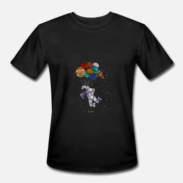 Astronaut Planet Astronaut planets gift - Men's Moisture Wicking Performance T-Shirt