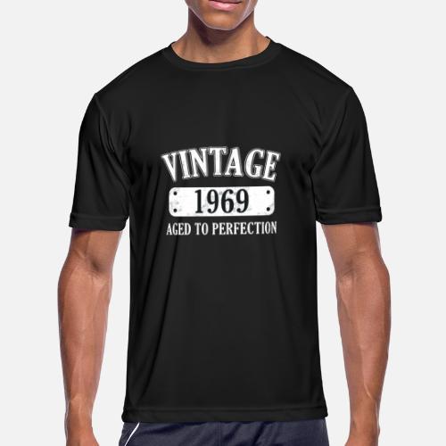 5c6cf7099 50th Birthday - 1969 Vintage Classic Present Gift Men's Sport T ...