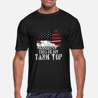 d16eb6952356dc Funny Military Meme USA Patriotic Tank Quote Gift - Men  39 s Sport T