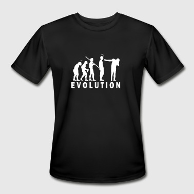 new funny Evolution Dab - Men's Moisture Wicking Performance T-Shirt