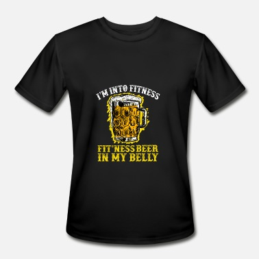 Beer Belly I'm Into Fitness Beer In My Belly - Men's Sport T-Shirt