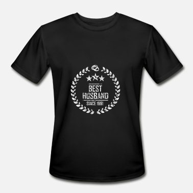 The Best Of 1991 best husband since 1991 - Men's Moisture Wicking Performance T-Shirt