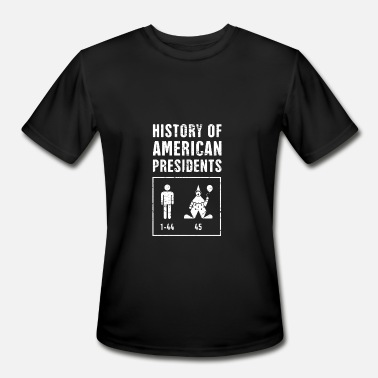 American President Presidents American History Teacher - Men's Moisture Wicking Performance T-Shirt