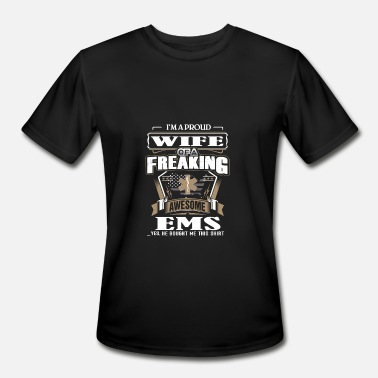 Chris Hemsworth EMS - I'm a proud wife of a freaking awesome ems - Men's Sport T-Shirt