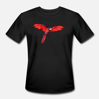 Macaw Macaw parrot bird - Men's Moisture Wicking Performance T-Shirt