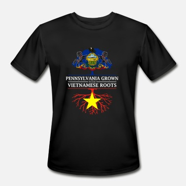 Pennsylvania Grown with Vietnamese Roots - Men's Moisture Wicking Performance T-Shirt