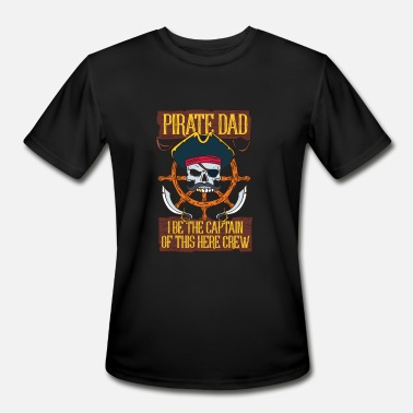 Jolly Roger PIRATES: Pirate Dad - Men's Sport T-Shirt
