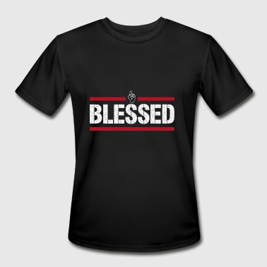 Blessed Tee - Men's Moisture Wicking Performance T-Shirt