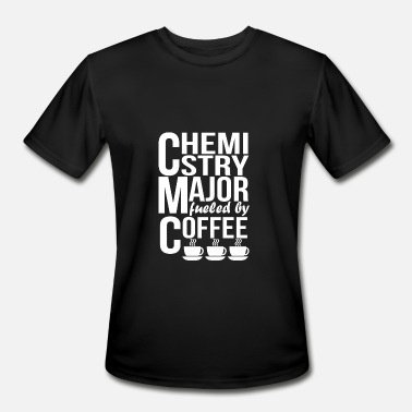 Chemistry Coffee Chemistry Major Fueled By Coffee - Men's Moisture Wicking Performance T-Shirt