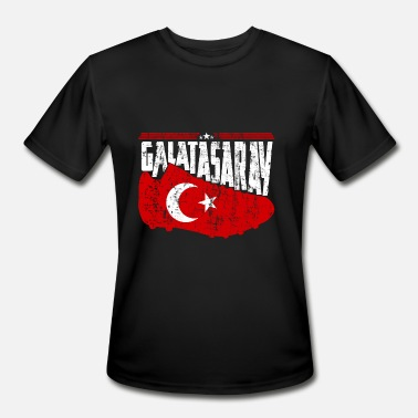 Team Turkey galatasaray team Turkey sport gift idea - Men's Moisture Wicking Performance T-Shirt