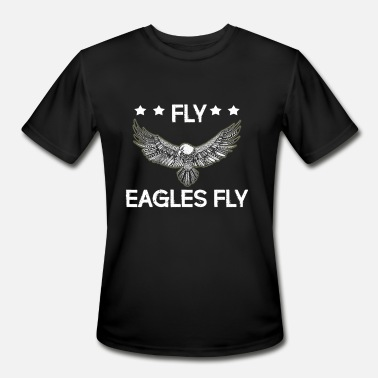 Flying Eagle AFLY EAGLES FLY Flying Eagles - Men's Moisture Wicking Performance T-Shirt