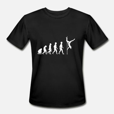 Pole Dance Evolution Evolution Pole Dance Dancing Dancer - Men's Moisture Wicking Performance T-Shirt