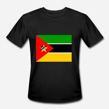 Flag Of Mozambique Mozambique Flag - Men's Moisture Wicking Performance T-Shirt
