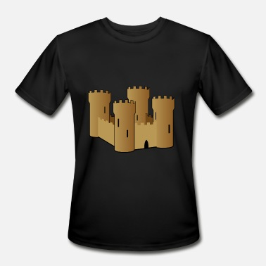 Sandman sand castle - Men's Sport T-Shirt