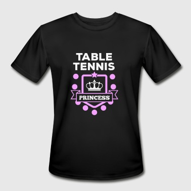 Table tennis - Table tennis princess! - Men's Moisture Wicking Performance T-Shirt