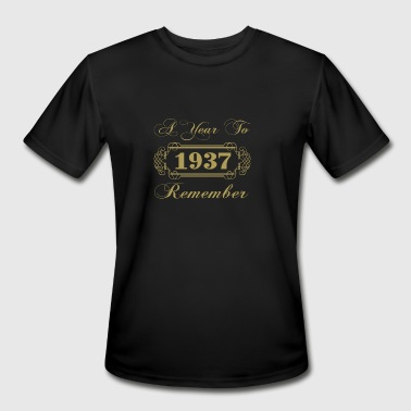 1937 A Year To Remember - Men's Moisture Wicking Performance T-Shirt