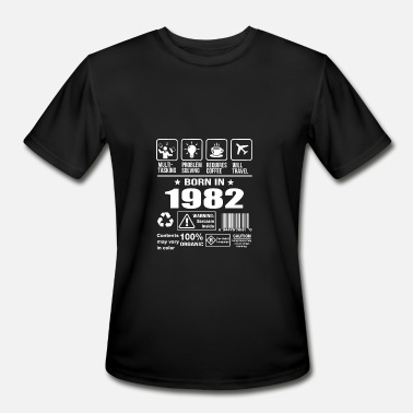 Born 1982 Born In 1982 - Men's Moisture Wicking Performance T-Shirt