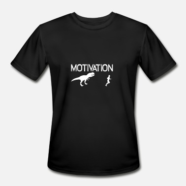 b5d07bf4 Motivate Dinosaur Motivation Dinosaurs 01 - Men's Sport T-Shirt. Men's  ...