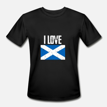 Scotland Bagpipe Scotland, Scottish, Bagpipe - Men's Moisture Wicking Performance T-Shirt