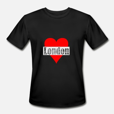 Cosmopolitan City A heart for London! Gift, cosmopolitan city, - Men's Sport T-Shirt