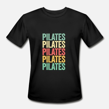 Instructor Workout Retro Pilates TShirt Instructor Teacher Vintage Workout - Men's Moisture Wicking Performance T-Shirt