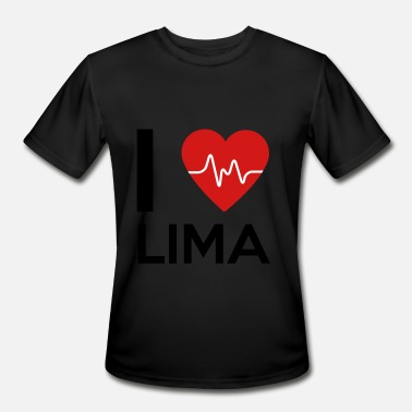 I Love Lima I Love Lima - Men's Sport T-Shirt