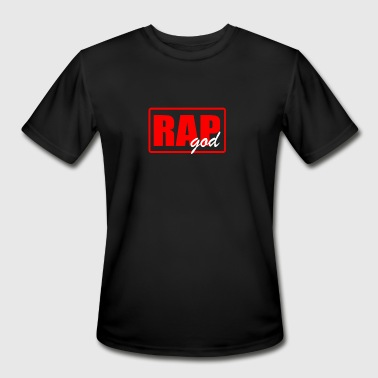 Rap Game RAP GOD - Men's Moisture Wicking Performance T-Shirt