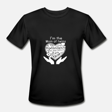 Cocteau Twins Twins - I'm the mom of twins t-shirt - Men's Moisture Wicking Performance T-Shirt