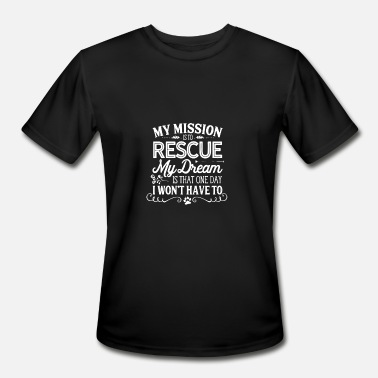 Rescue logo - Men's Moisture Wicking Performance T-Shirt
