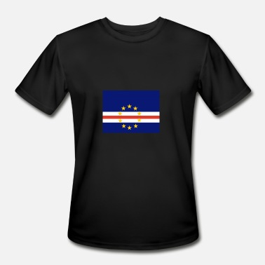 Cvs Flag of Cape Verde (cv) - Men's Moisture Wicking Performance T-Shirt