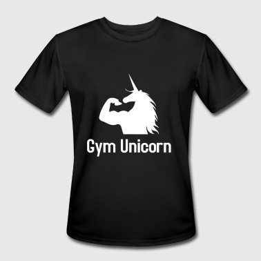 Gym Unicorn - Men's Moisture Wicking Performance T-Shirt