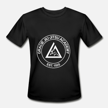 Jiu Jitsu gracie jiu jitsu academy - Men's Moisture Wicking Performance T-Shirt