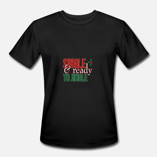 Christmas Carols T-Shirts - Christmas Advent Santa Gift - Men's Sport T-Shirt black
