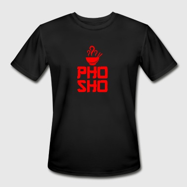 Pho Sho Foodie Asian Food - Men's Moisture Wicking Performance T-Shirt