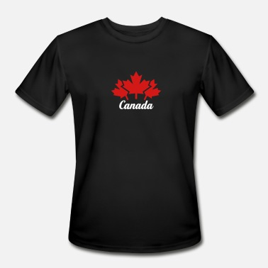 Mtv CANADA 3 MAPLE LEAFS - Men's Moisture Wicking Performance T-Shirt