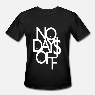 Adult Novelty Adult No Days Off Gym Novelty - Men's Moisture Wicking Performance T-Shirt