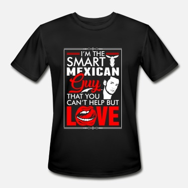 Mexican Guy Mexican Guy Love - Men's Moisture Wicking Performance T-Shirt