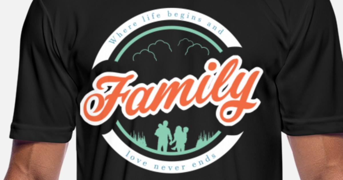 214120c27 Family day Family lover Family party crest gift Men s Sport T-Shirt ...