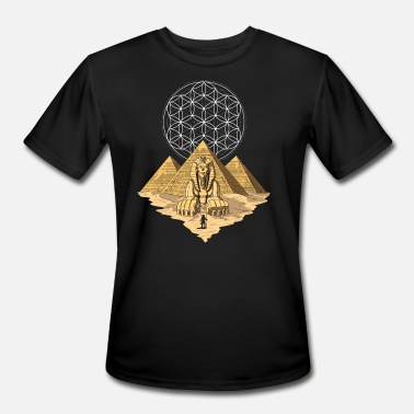 Egyptian Mythology Egyptian Pyramids Ancient Sphinx Mythology - Men's Sport T-Shirt
